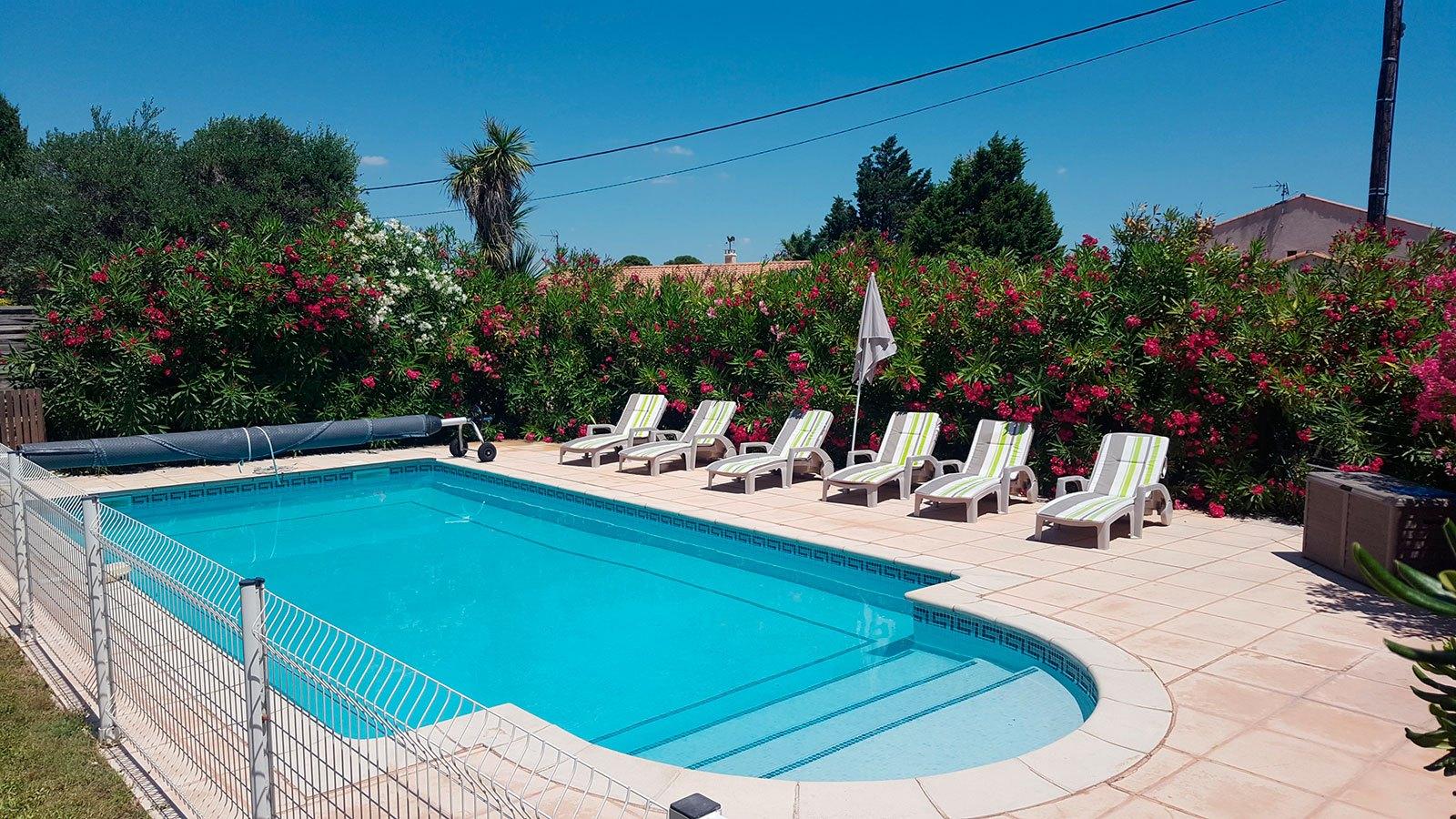 Location La villa romana avec une piscine privée chauffée