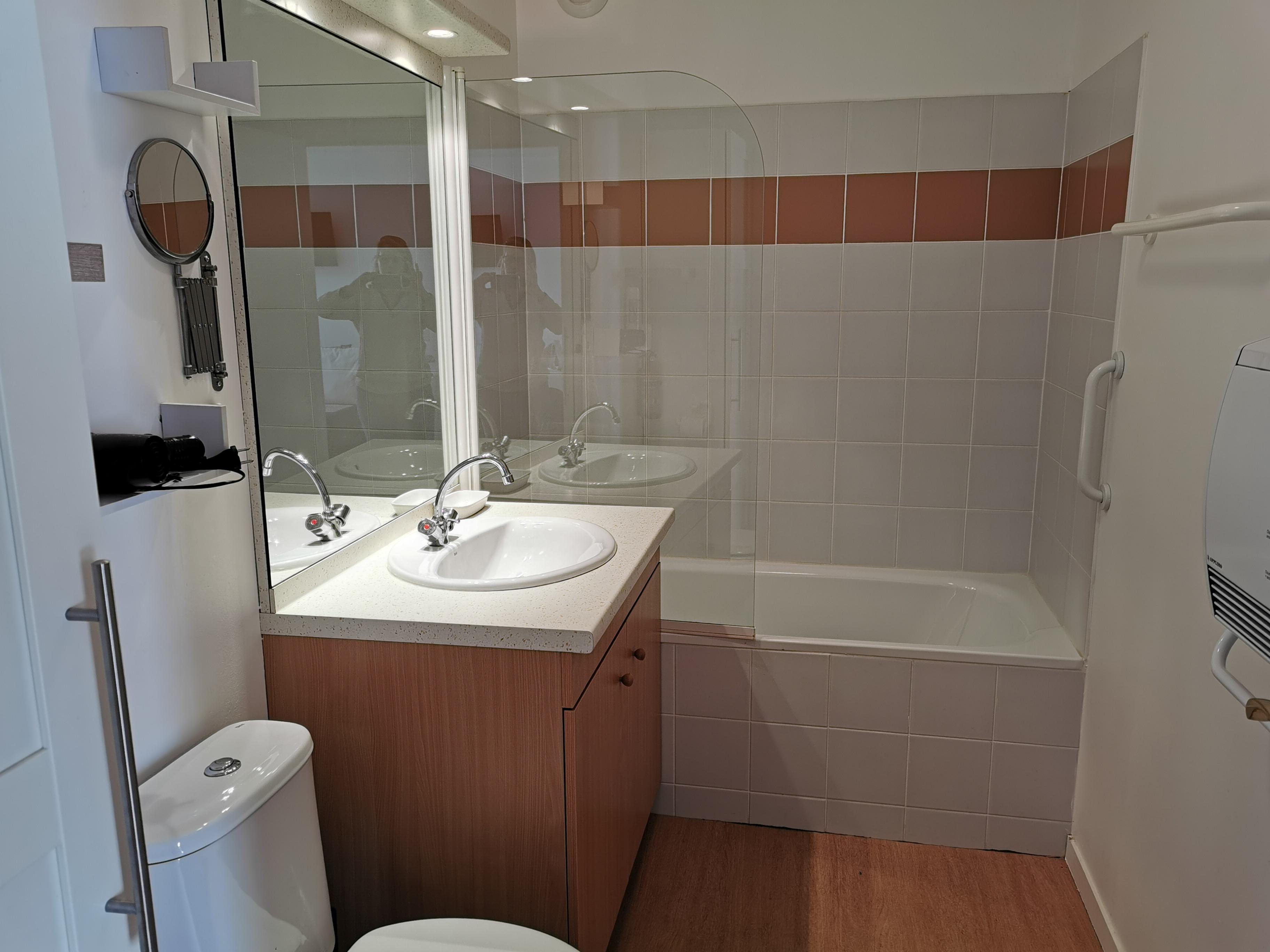 LE CERF  Salle de bains